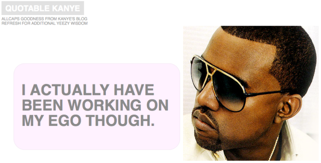 Kanye Quotables